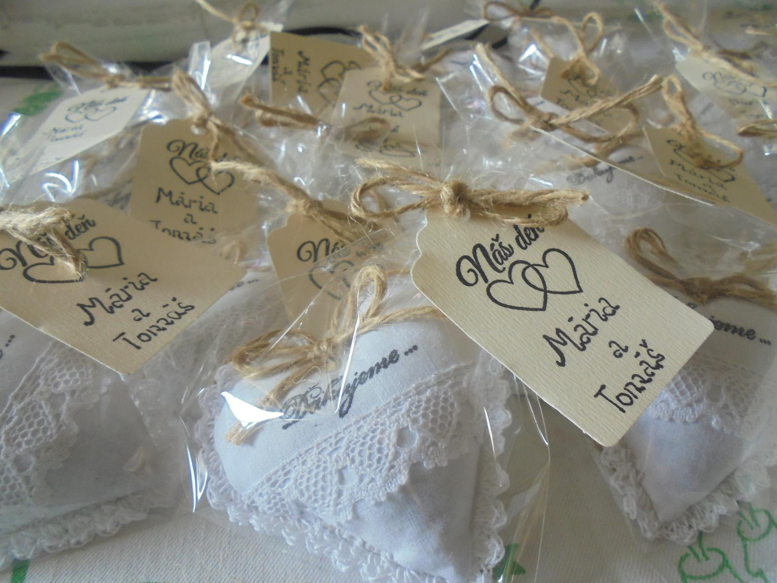 Svadobné darčeky od novomanželov - Obrázok č. 31