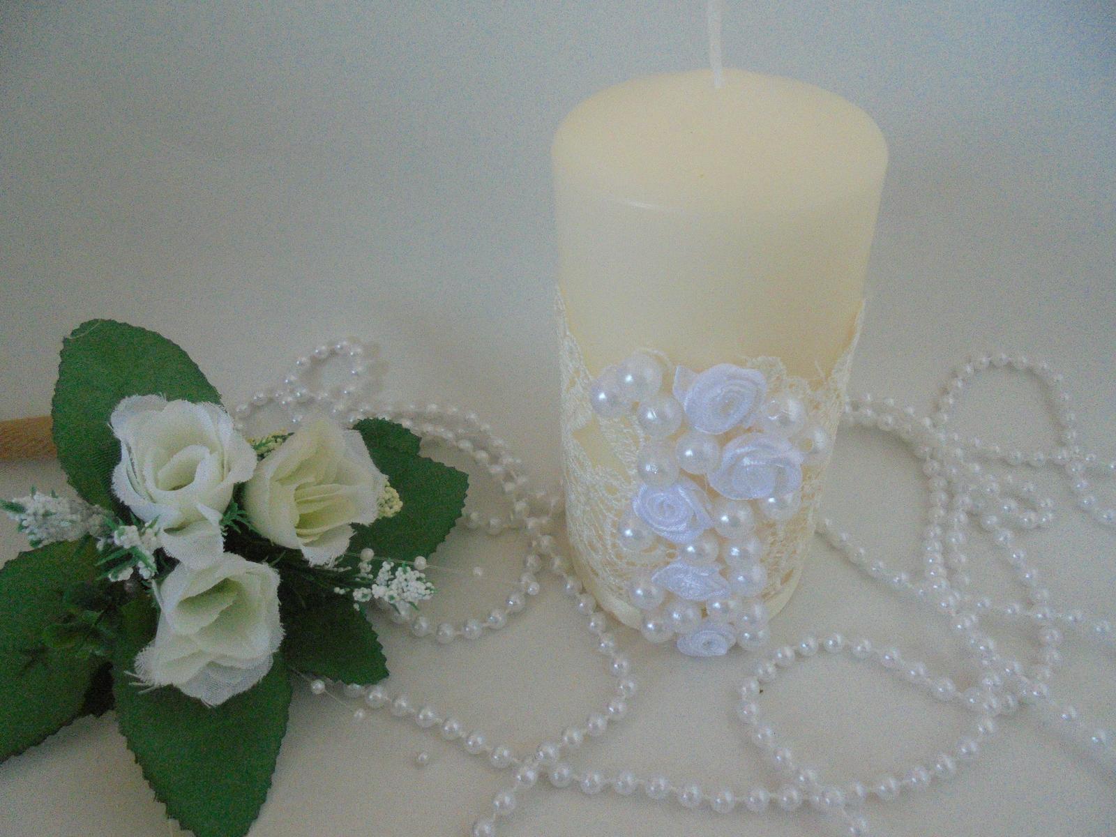 romantická sviečka - Obrázok č. 1