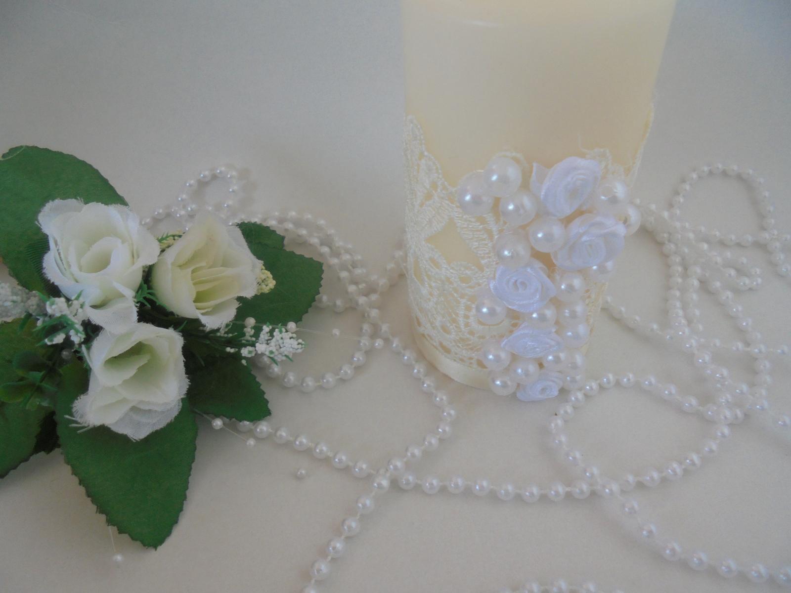 romantická sviečka - Obrázok č. 2