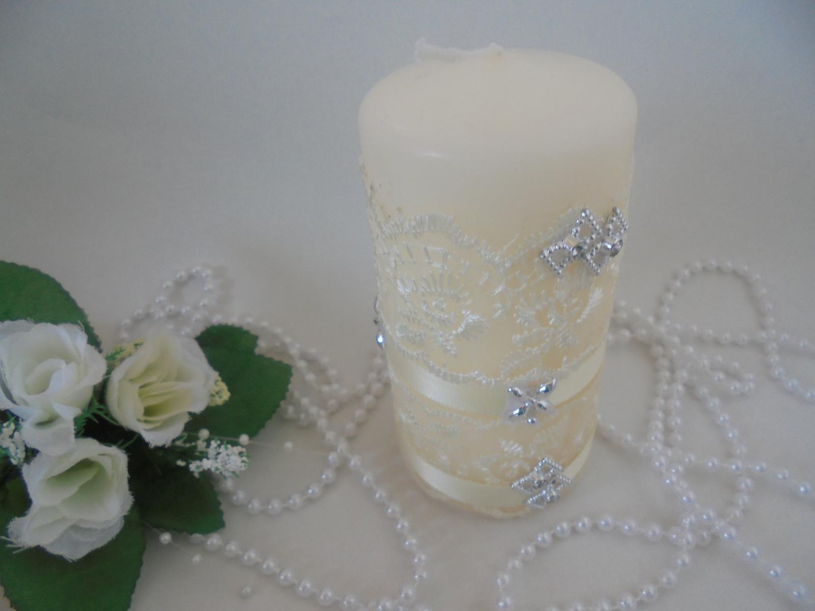 svadobná sviečka - Obrázok č. 1