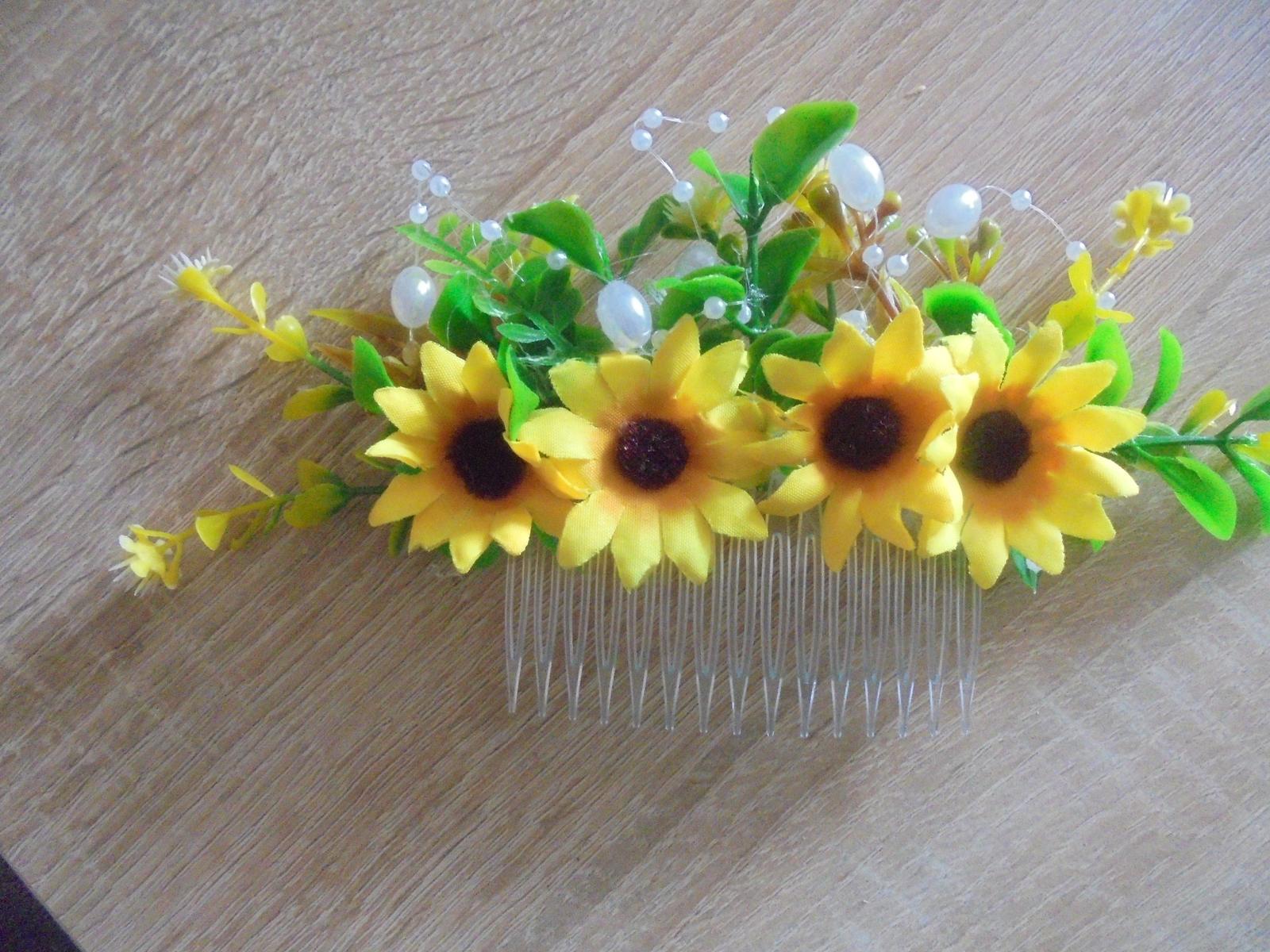 hrebienok do vlasov-slnečnice - Obrázok č. 1