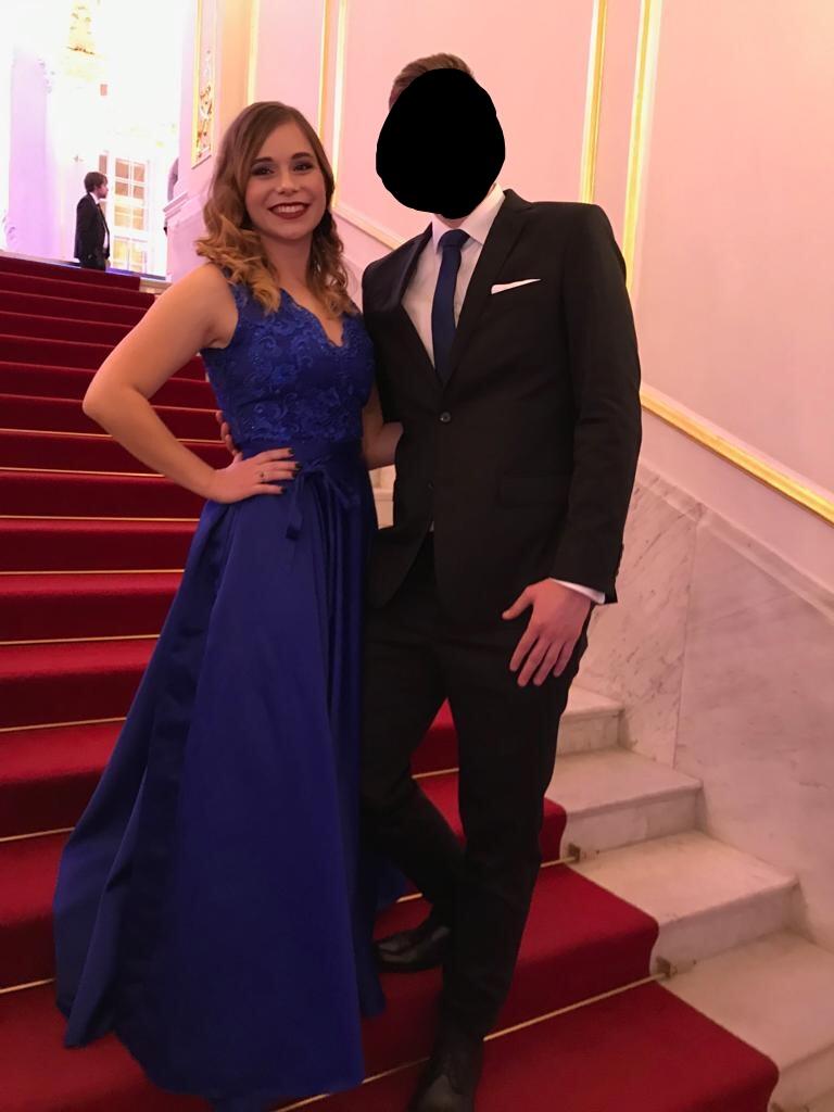 Spoločenské / popolnočné šaty S/M - Obrázok č. 1
