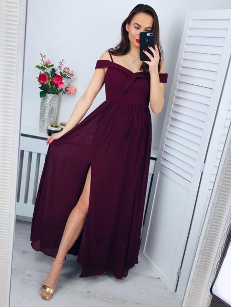 Dlhé spoločenské šaty - veľkosť M - Obrázok č. 1