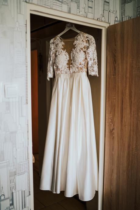 Svadobné šaty - ivory 36/38 - Obrázok č. 1