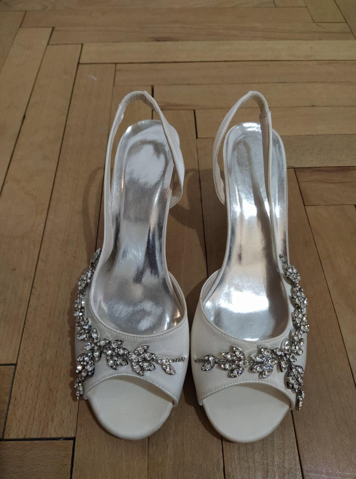 Svadobné sandálky - Obrázek č. 2