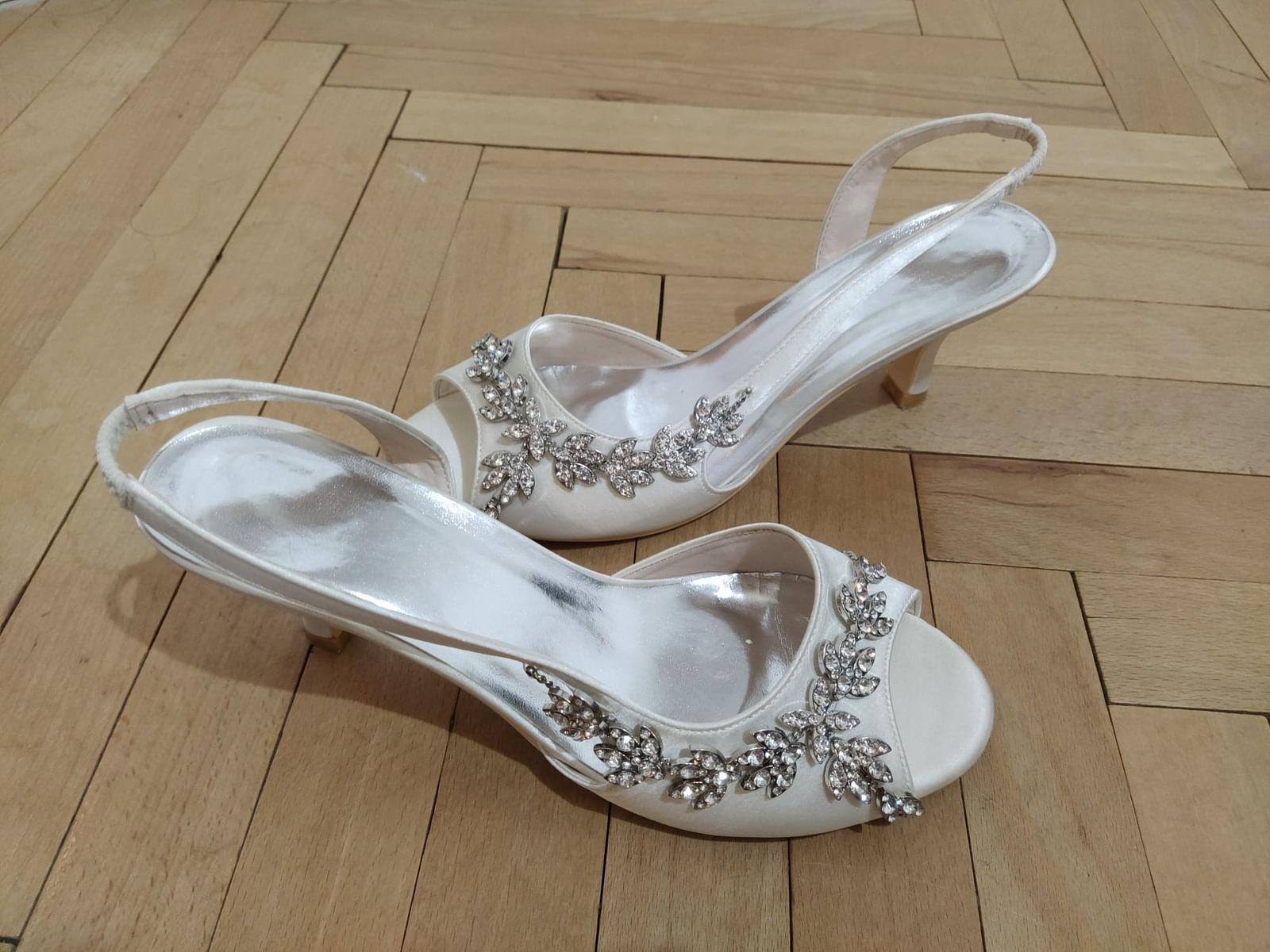 Svadobné sandálky - Obrázek č. 3