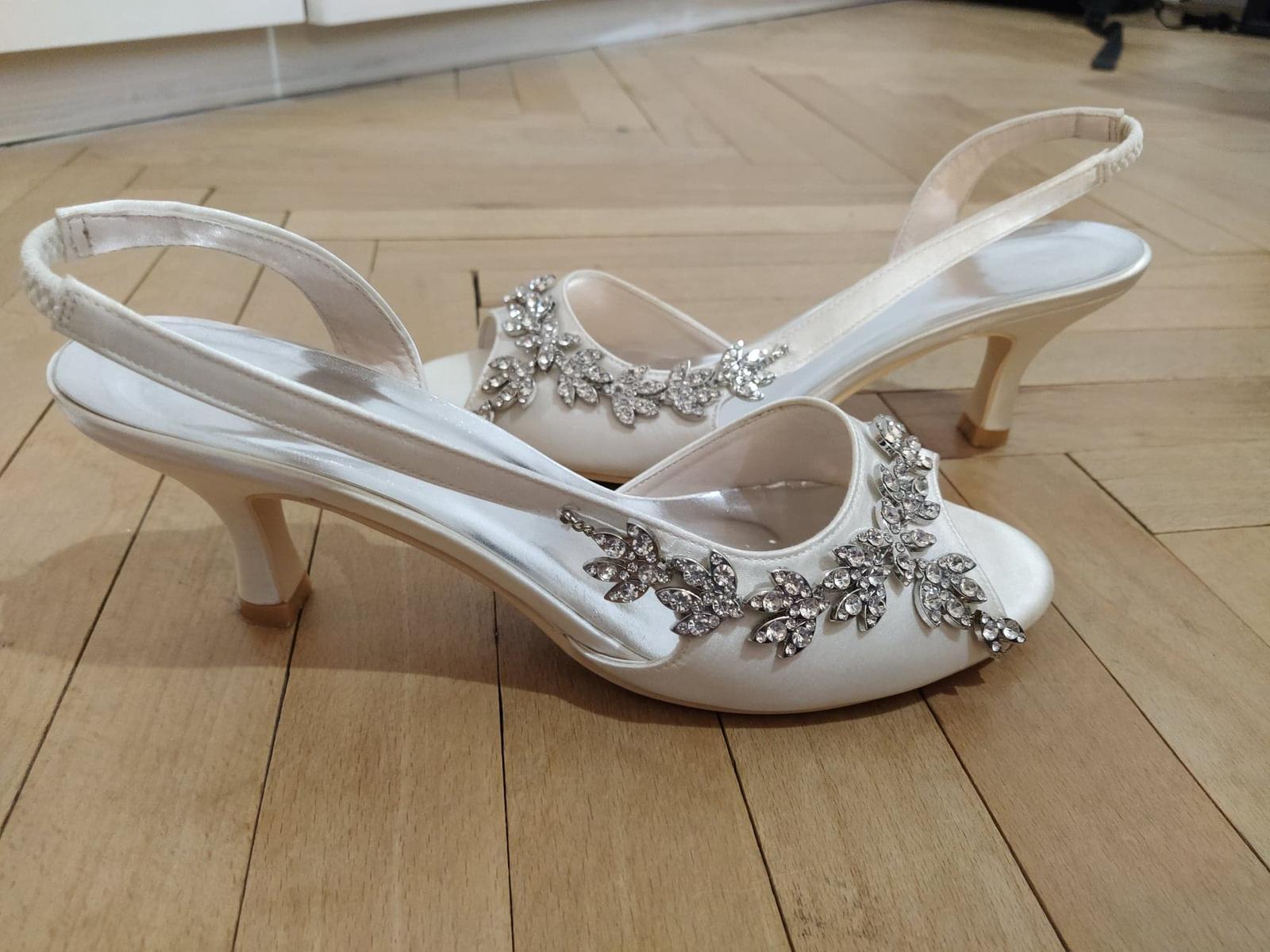 Svadobné sandálky - Obrázek č. 4