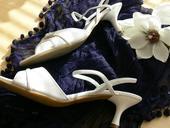 Svatební páskové botičky se zirkony, 40