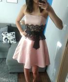 Amisu Glamour šaty z limitované kolekce vel. 36 - , 38