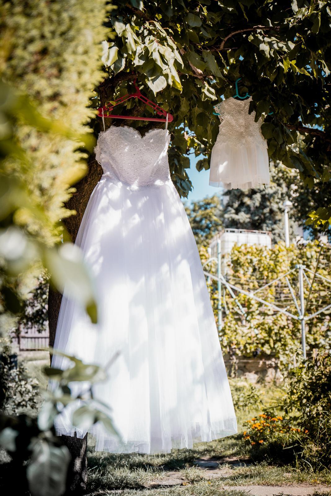 Svatební šaty 34-36 - Obrázek č. 2