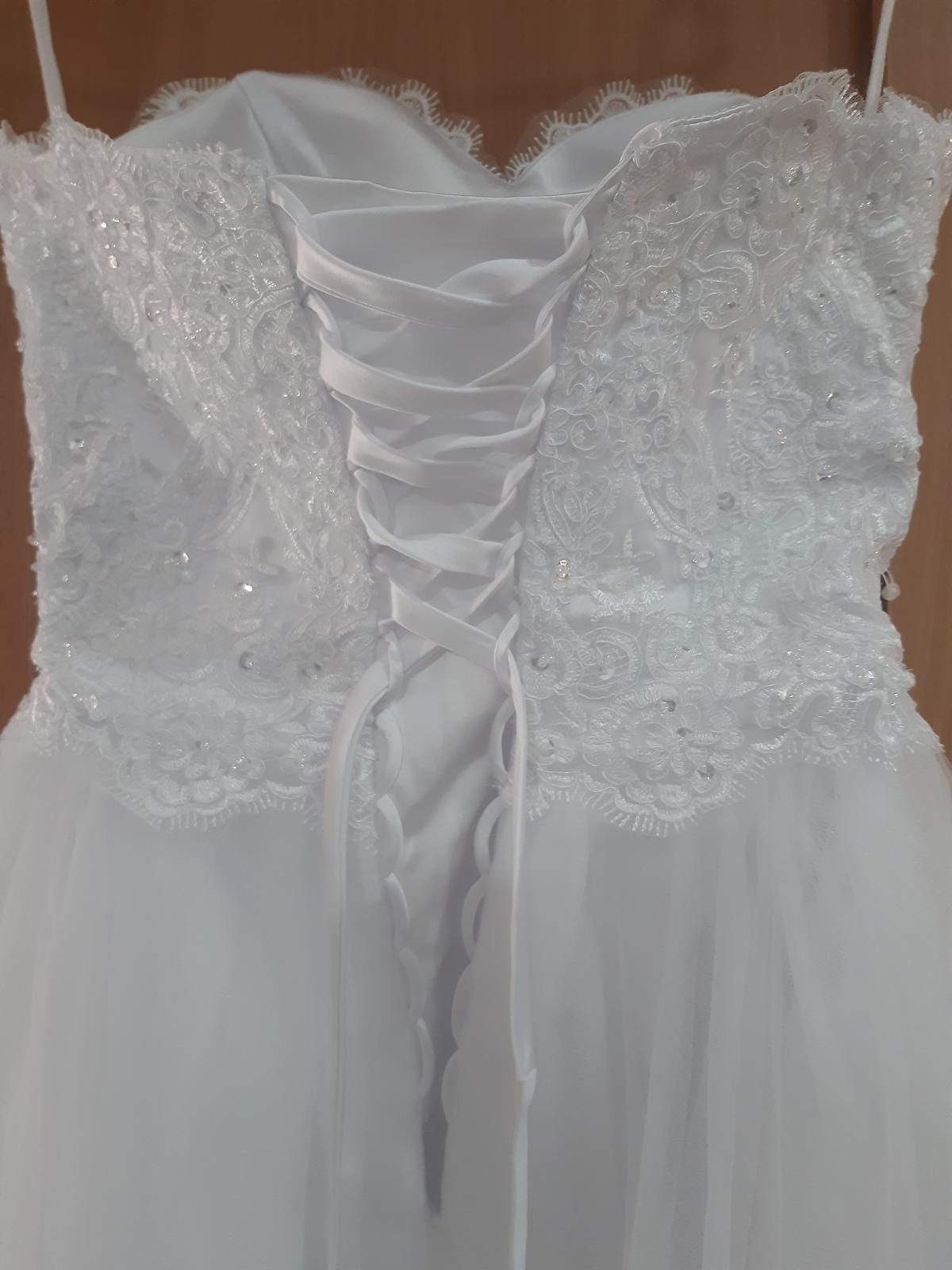 Svatební šaty 34-36 - Obrázek č. 4