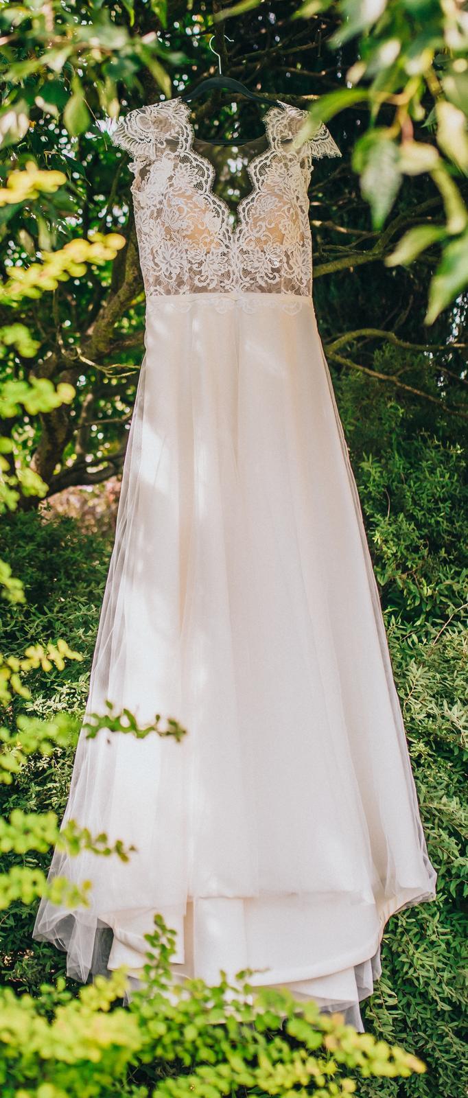 Prodám svatební šaty šité na míru - Obrázek č. 3