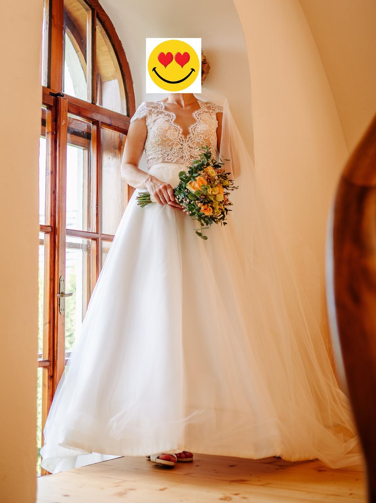 Prodám svatební šaty šité na míru - Obrázek č. 4