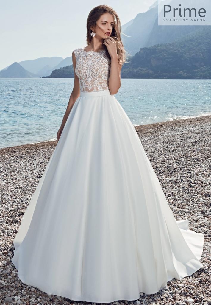 Lanesta svadobné šaty onyx - Obrázok č. 1