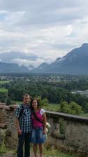 Naše zasnoubení v Rakousku