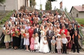 To bolo svadobčanov:-)