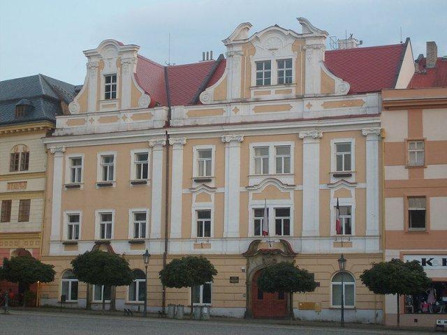Nová radnice Chrudim - zde bude obřad