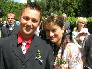 na bratránečkově svatbě