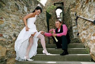 Trošičku odvážná fotečka-na přání ženich :-)