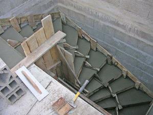 stačilo lozenia po rebríku :)
