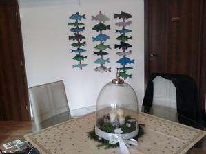 adventní rybičkový kalendář