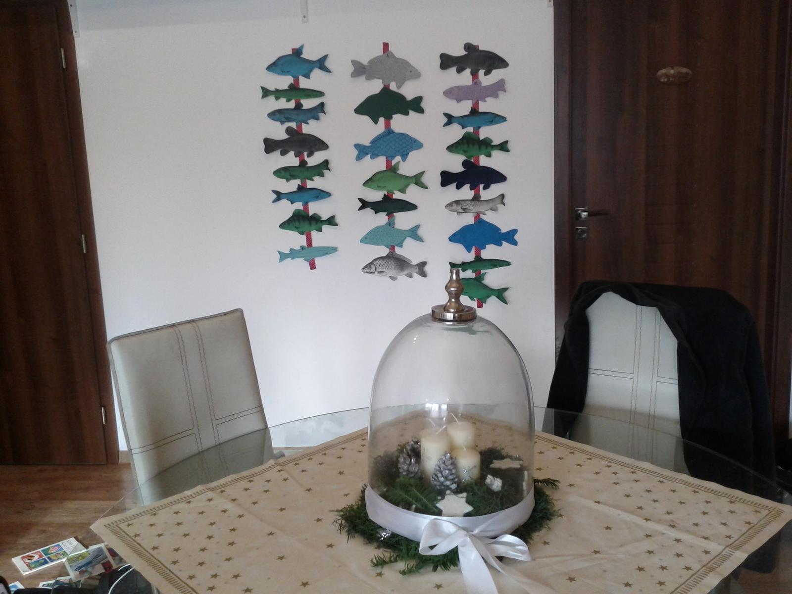 Domácí tvoření - adventní rybičkový kalendář