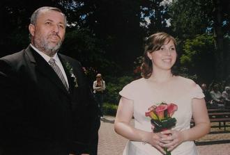 táta byl nervózní ale celý den si jina užíval :)