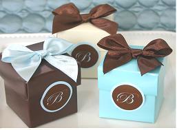 Krabičky na svatební mandle