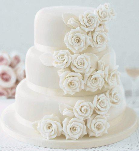Our wedding day 10.4.2010 - táto tortička je úúúžasná...