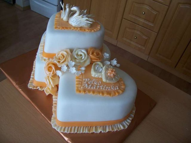 zuzana srokova{{_AND_}}jozef soľava - svadobna torta