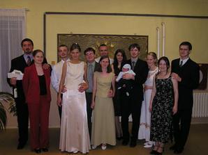 v roku 2003 sme boli na 6-tich svadbách - nuž čo, bol to úrodný rok (aj na víno)