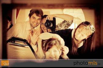 Naše šikovná fotografka a šikovná kadeřnice :)