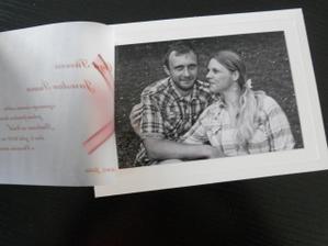 Naše svatební oznámení - otevřené