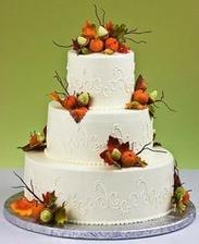 k podzimní svatbě patří i podzimní dort