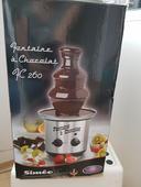 Čokoládová fontána, fondue,