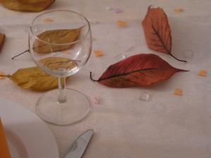 Zkoušení ozdoby stolu