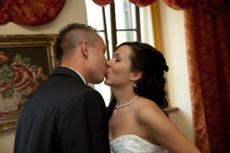 ženich si přišel pro nevěstu :)