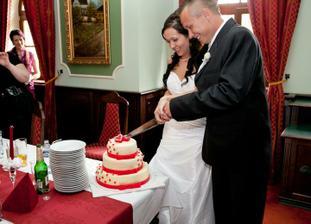 náš úúúúžasný dortík