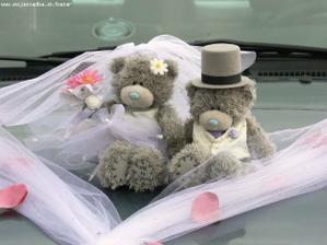 Medvedíky na auto už mám sľúbené, uvidím či budú naozaj