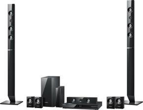 3D Full HD 7.1 kanálove Blueray-DVD kino s výkonom 1330 Wattov a s podporou  180 Wattového subwoofera