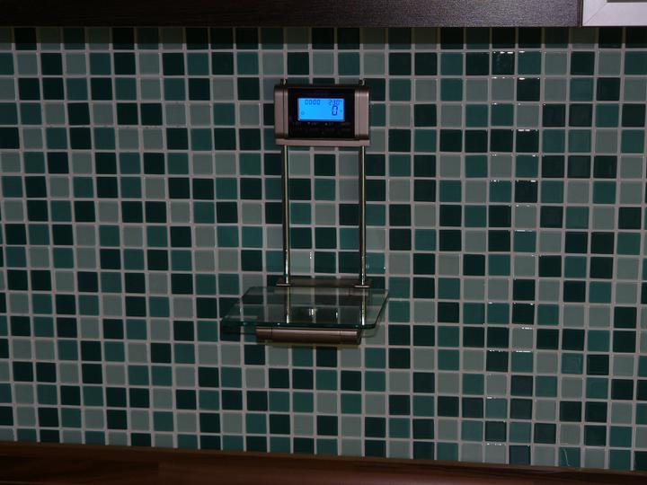 Kuchyňa .. ako to zatiaľ vyzerá - kuchynská váha