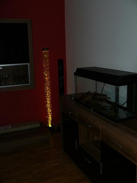 OBÝVAČKA - hotovo :))) - bublinková lampa