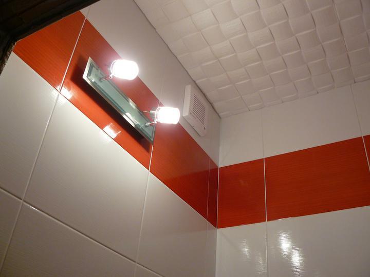 Kúpeľňa a WC - svetlo vo WC