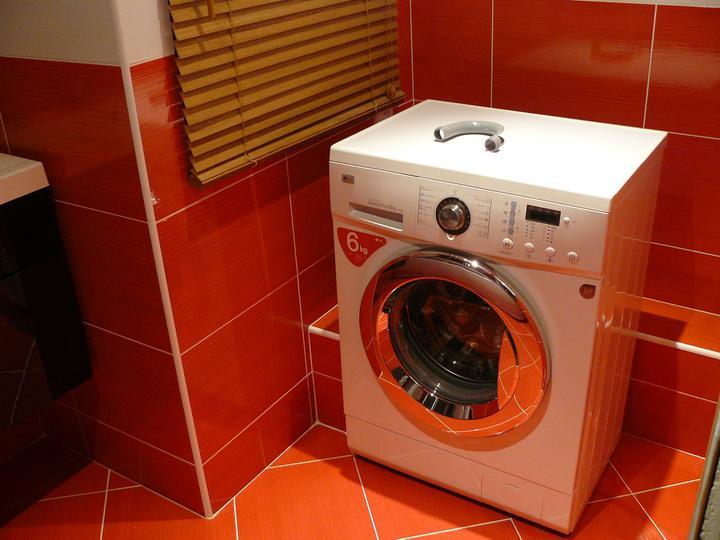 Kúpeľňa a WC - práčka LG 1222 ND
