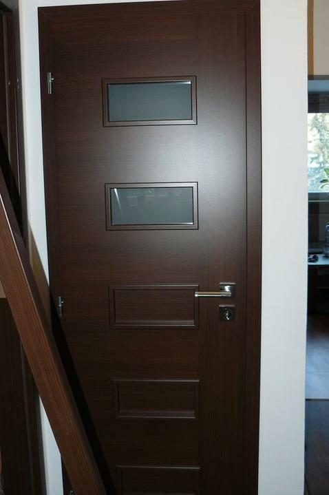 Interiérové dvere - WC ( mi tam vošla časť obložky do záberu :) )