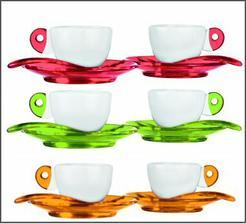 espresso sada ... krásne farebná