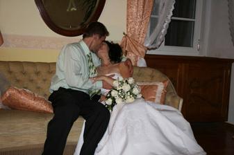 těsně před svatební nocí