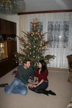 ...první vánoce jako manželé (u tchyně a tchána)