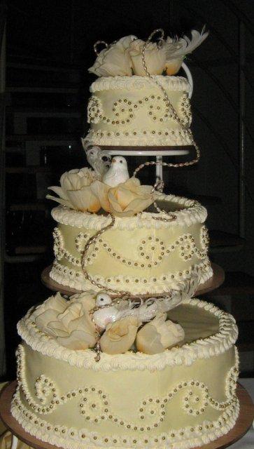 Daniela{{_AND_}}Juraj MIŇOVI - torta od spoločných kmotrovcov