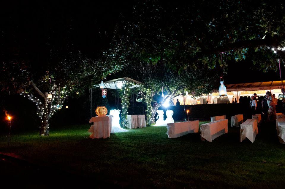Hotel Kamila - Svadobný obrad za tmy